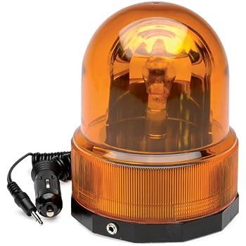 Amazon Com Roadpro Rpsc 728 12v Amber Revolving Warning