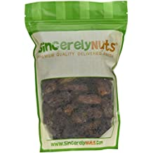 Sincerely Nuts Whole Pitted Dates- One Lb. Bag - Packed with Fiber & Minerals - Irresistibly Scrumptious - Guaranteed Freshness - Kosher Certified