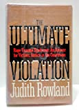 The Ultimate Violation, Judith Rowland, 0385189605