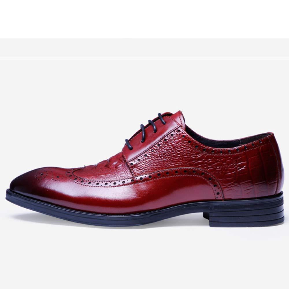 MYXUA Herren Derby Casual Bullock Spitze Schuhe Business Business Business Schuhe B07HQHKZRJ  789619