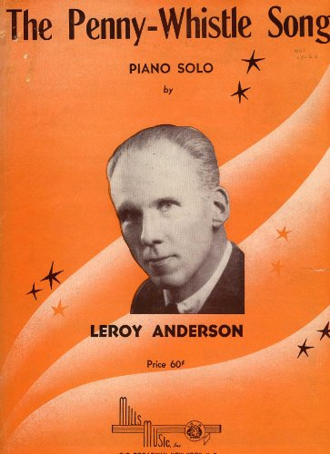 The Penny-Whistle Song Piano Solo Sheet Music