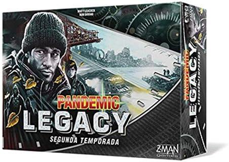 Z-man Games España- Pandemic Legacy Segunda Temporada, Español (ZM7173BES): Amazon.es: Juguetes y juegos