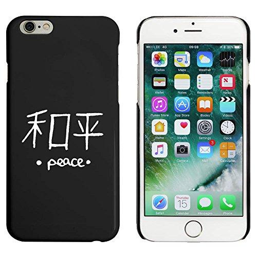 Noir 'Paix Chinoise' étui / housse pour iPhone 6 & 6s (MC00014073)