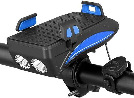 BXT Luz De Bicicleta, Luz De Bicicleta Recargable USB 4000Mah con ...
