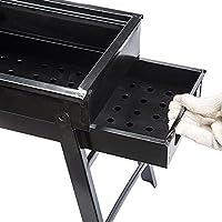 Nclon Plegable Portátil Carbón de madera Barbacoa Barbacoa ...