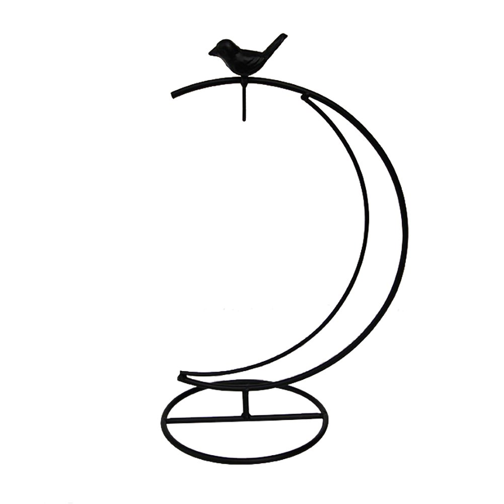 Awesomes Ornament Display Stand Iron Pothook Stand for Glass Ball/Flower Plant Pot/Lantern Light by Awesomes