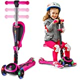 Best Scooters For Kids - SKIDEE Scooter for Kids with Folding Seat – Review