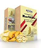 Rozocha Freeze Dried Mixed Fruit Bites 2.8 Oz (0.7Oz x 4 Count) Healthy Snack for Kids and all Ages