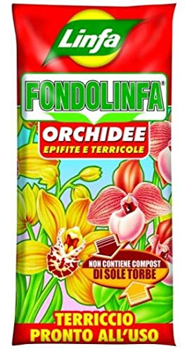 Fondolinfa - Sustrato listo para usar para orquídeas y todas las plantas acidófilas, saco de 10 litros: Amazon.es: Jardín