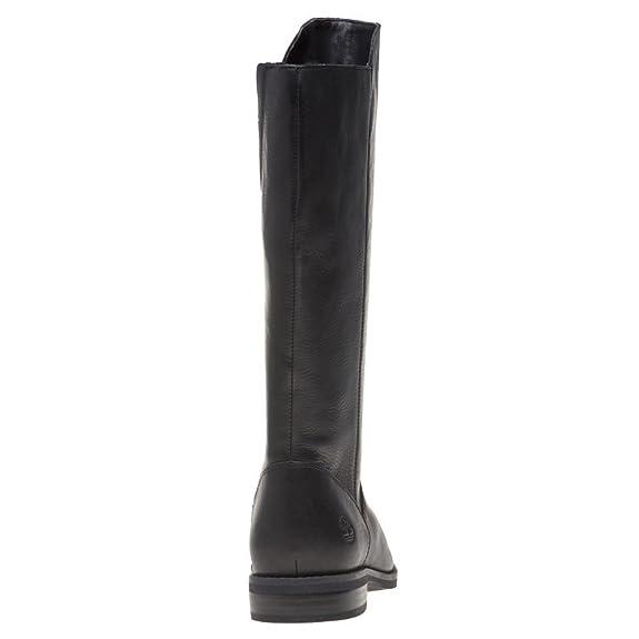 Timberland Damen Magby Tall Boot (Wide Fit) Stiefeletten, Schwarz  Amazon.de   Schuhe   Handtaschen e257086cb2