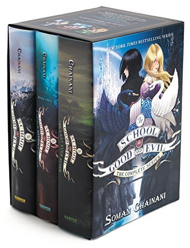 The School for Good and Evil Series Complete Box Set: Books 1, 2, and 3 by Soman Chainani (2015-10-06)