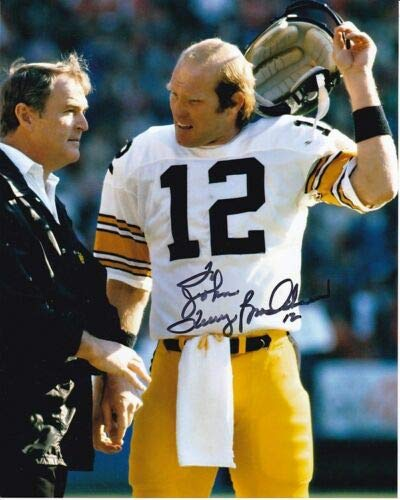 (TERRY BRADSHAW Autographed Signed NFL PITTSBURGH STEELERS Photograph - To John)