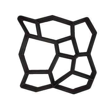 XTXWEN Molde para moldes de concreto Molde Fundido 50x50x4 cm - para concreto, adoquines de