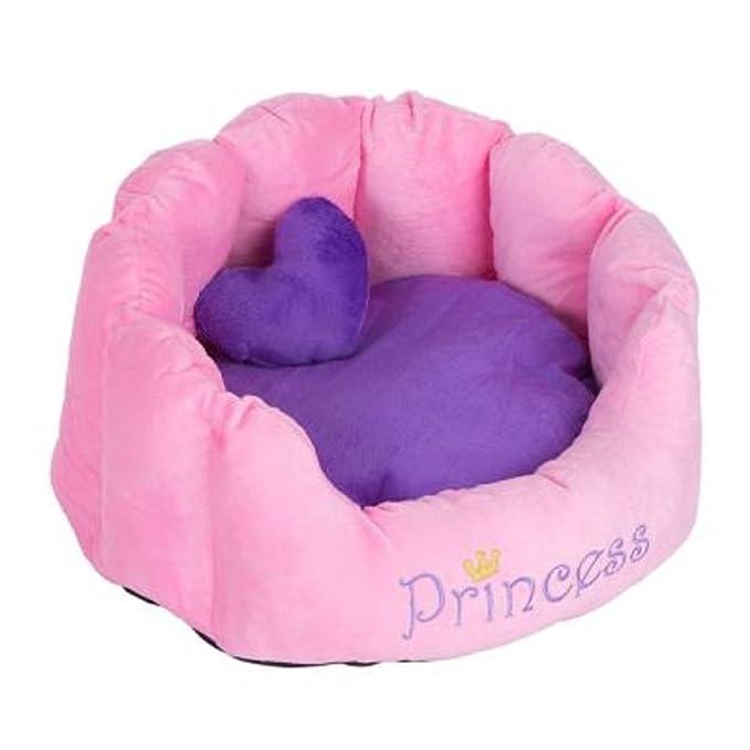 Cómodo Snuggle cama Príncipe Princesa gatos perros lavable ...