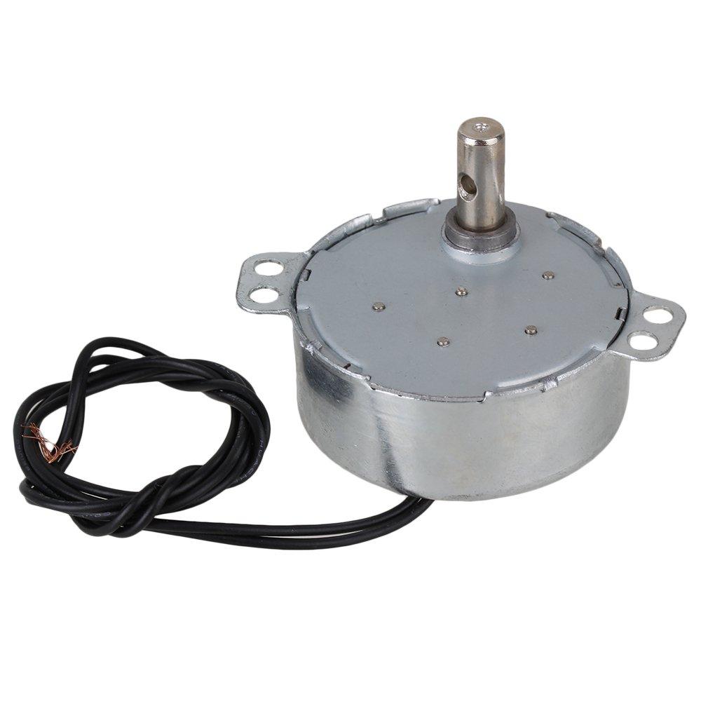 BQLZR Small Robust Synchronous Motor TYC-50 AC220V 8-10RPM CW/CCW Torque 3gf.cm 4W BQLZRN00785
