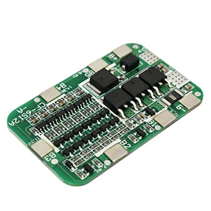 Amazon com : PCB BMS 6S 15A 24V Battery Protection Board For 18650