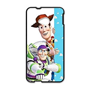 Toy Story CQ24KX5 funda HTC uno M7 teléfono celular caso funda D3KN6M6EP