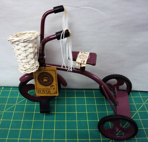 (Boyds Bears Gen-yoo-wine Tricycle-Discountinued)