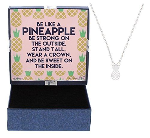 Pineapple Necklace Silver Tone Jewelry Keepsake product image