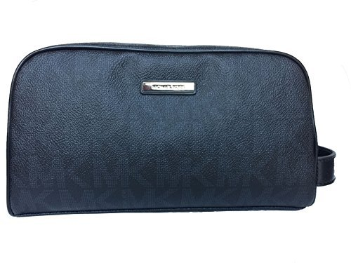 Michael Kors Jet Set Toiletry Holder Travel Case - PVC (Black)