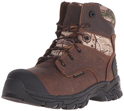 Justin Boots Men's Tek Outdoor WK114 Work Boots - Brown/C...