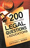 The 200 Most Frequently Asked Legal Questions for