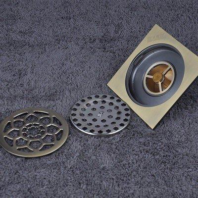 grande vendita Suhang Archaize Archaize Archaize rame modello scarico a pavimento, tipo T deodorante Core rame scarico a pavimento, igienica, lavatrice doppio uso scarico a pavimento ,1 – 3, utilizzare separatamente  compra meglio