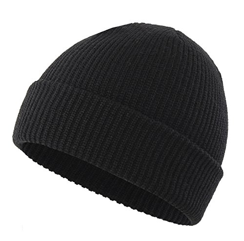 597ca9a96ab Connectyle Classic Men  s Warm Winter Hats Thick Knit Cuff - Import It All