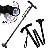 My Get Up & Go Cane - The Convenient Two-Handle Walking Cane For Maximum Comfort and Mobility by BulbHead