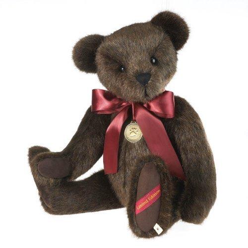 Gold Plated Teddy Bear - Boyds Bears Limited Edition Harrington Bearsworth 21
