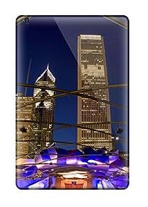 New Style Waterdrop Snap-on Pavilion Millennium Park Chicago Illinois Case For Ipad Mini 2