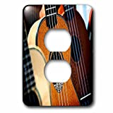 Florene - Music - Image of Close Up Of Acoustic Bass Guitar - Light Switch Covers - 2 plug outlet cover (lsp_234308_6)