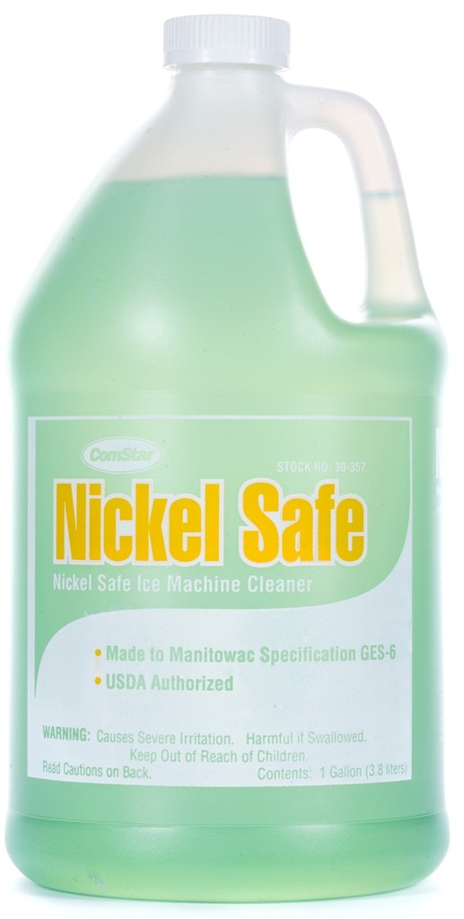 ComStar 90-357 Nickel Safe Ice Machine Cleaner, 1 gal Container,White