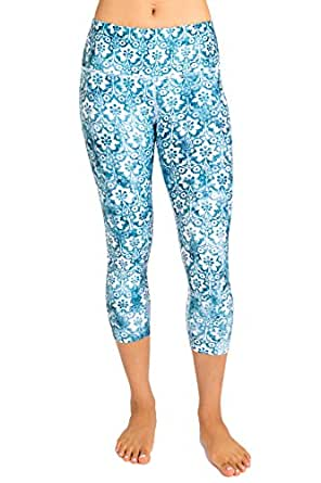 Inner Fire - Bella - Capri Yoga Pant - 4 (X-Small)