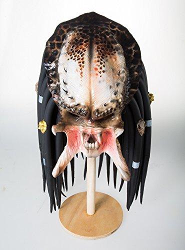 Predators Masks (Predator Costume Mask Cosplay Latex Halloween Prop Helmet Fancy Film Dress Decor (Type 1))