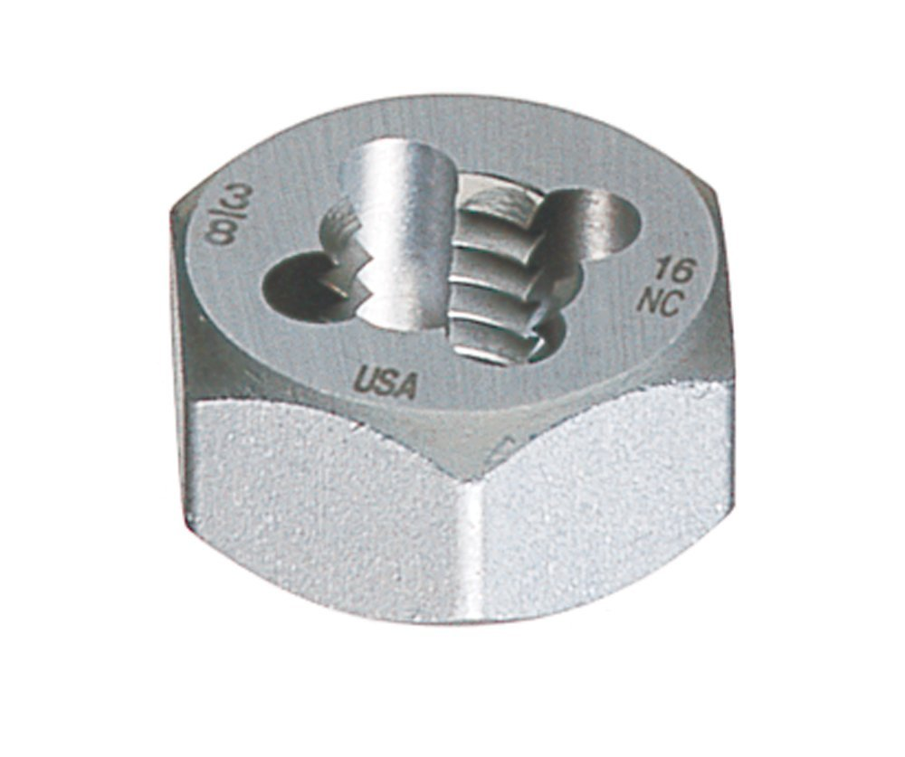 1-1/4'' - 11-1/2 NPT Hexagon Rethreading Dies