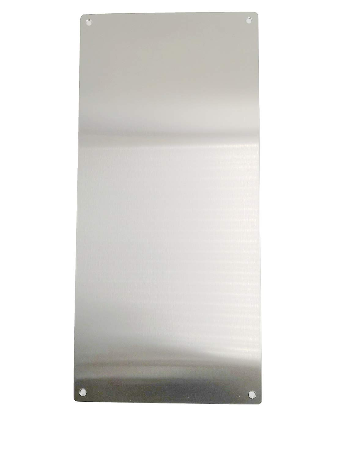 Promotion! VRSS Pack of 2 Satin Finish 304 Stainless Steel Kick Plate 200mm Height x 430mm Width 1.2mm Thick, 2 Pack