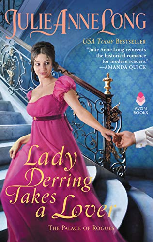 Book Cover: Lady Derring Takes a Lover: The Palace of Rogues