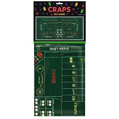 Craps Party Table Cover, 37