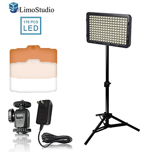 LimoStudio Photography Camcorder Continuous Adjusting