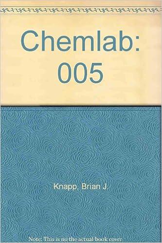005: ChemLab: Acids, Bases, and Salts (Vol  5): Brian J  Knapp