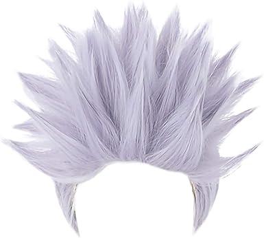 Neko-No-Shiro Jujutsu Kaisen Main Character Cosplay Wigs and Free Caps