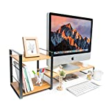JackCubeDesign Bamboo Monitor Stand Computer