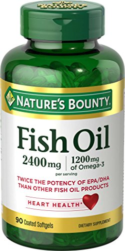 Nature's Bounty Fish 2400 mg OilSoftgels, 90 ea