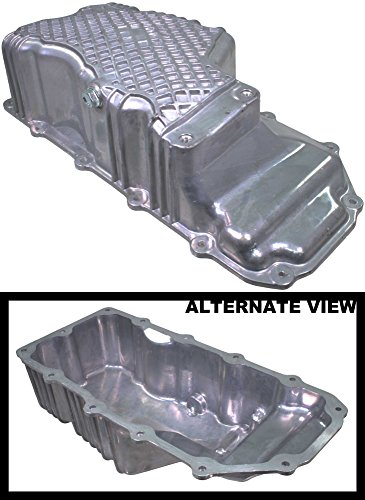 Oil Pan Aluminum Assembly w/ Drain Plug Fits 2.0L Engine On 2000 Chrysler Cirrus 1997-2005 Dodge Neon 1997-2000 Dodge Stratus or Plymouth Breeze (Replaces Mopar 4777300AE) (Dodge Neon Engine Specs)