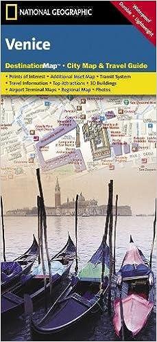 Venice National Geographic Destination City Map National - Venice city map