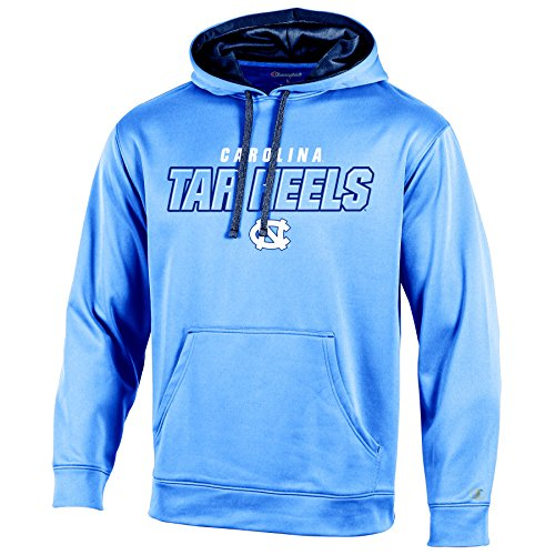 NCAA North Carolina Tar Heels Adult Men Pullover Hood with Contra, Small, ()