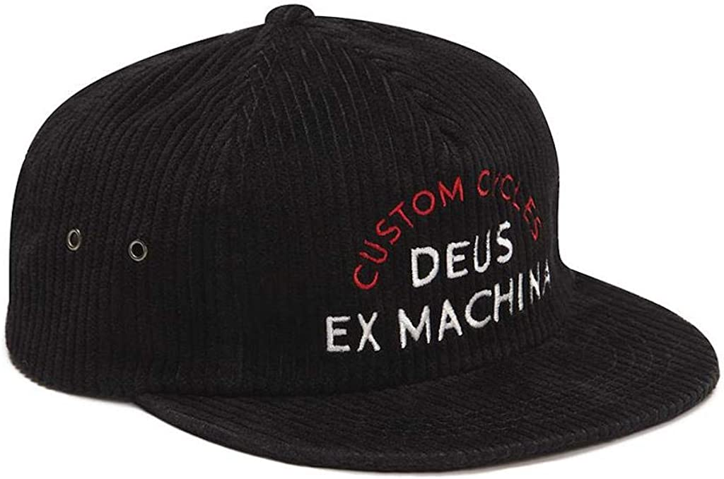 Deus Ex Machina - Gorra con Visera Allen Cord Cap: Amazon.es: Ropa ...