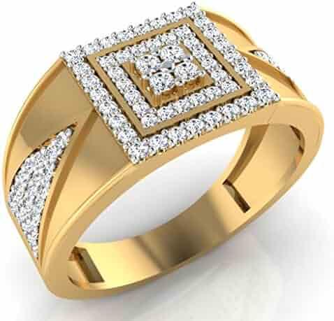 18k Gold rings Natural Diamond ring diamond rings for men