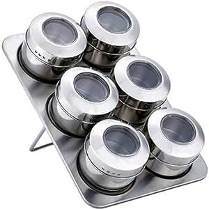 Set 6 Especieros Magneticos